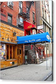 The Bitter End New York-greenwich Village Acrylic Print by Candace Garcia