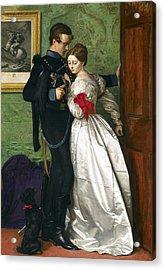 The Black Brunswicker Acrylic Print by Sir John Everett Millais