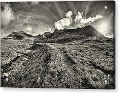 The Black Cuillin Range No. 1 Acrylic Print
