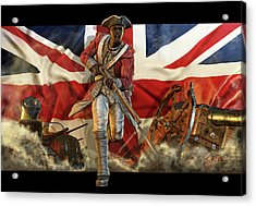 The Black Loyalist Acrylic Print
