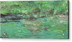 The Blanco At Wimberly Acrylic Print