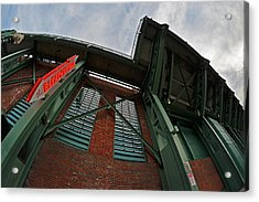 The Bleacher Bar At Fenway Park In Boston Acrylic Print by Toby McGuire