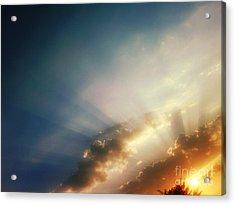 The Blink Of The Sun Acrylic Print by Eva Maria Nova