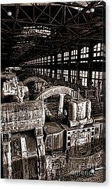 The Blower House At Bethlehem Steel  Acrylic Print