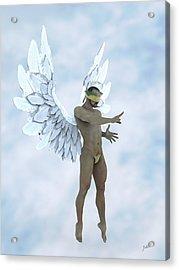 The Blue Angel Acrylic Print