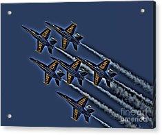 The Blue Angels Acrylic Print by Corky Willis Atlanta Photography