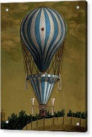 The Blue Balloon Acrylic Print