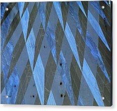 The Blue Dimension Acrylic Print