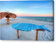 The Blue Fish Acrylic Print by JC Findley