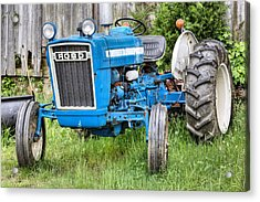 The Blue Ford Acrylic Print by JC Findley