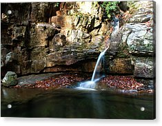 The Blue Hole In November #2 Acrylic Print