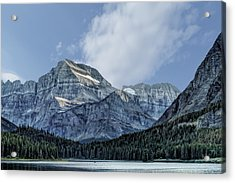 The Blue Mountains Of Glacier National Park Acrylic Print