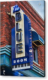 The Blue Room Sign Acrylic Print