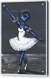The Blue Swan Acrylic Print