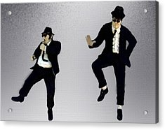 The Blues Brothers Acrylic Print by Jeff DOttavio