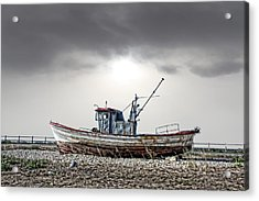 Acrylic Print featuring the photograph The Boat by Angel Jesus De la Fuente