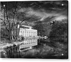 The Boathouse Of Prospect Park Acrylic Print by Jessica Jenney