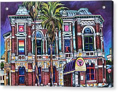 Acrylic Print featuring the painting The Bonham Exchange by Patti Schermerhorn
