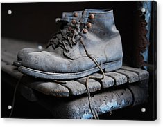 The Boots Acrylic Print by Eric Harbaugh