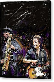 The Boss And The Big Man Acrylic Print