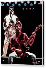 The Boss '85 Acrylic Print by Joe Roselle