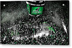 The Boston Celtics 2008 Nba Finals Acrylic Print by Brian Reaves