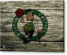 The Boston Celtics 2w Acrylic Print by Brian Reaves