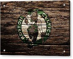 The Boston Celtics 6e Acrylic Print by Brian Reaves