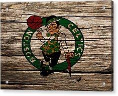 The Boston Celtics W1 Acrylic Print by Brian Reaves