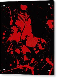 The Boston Red Sox Acrylic Print by Brian Reaves