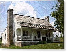 The Bottom House  - Perryville Ky Acrylic Print by Thia Stover