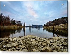 The Bottom Of The Lake Acrylic Print