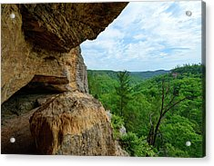 The Boulders Edge Acrylic Print