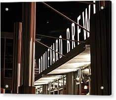 The Boulevard Deck Acrylic Print
