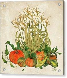 The Bountiful Harvest Acrylic Print