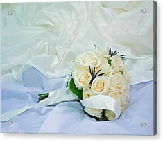The Bouquet Acrylic Print by Keith Armstrong