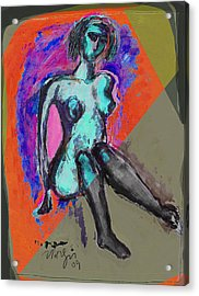 The Box Acrylic Print by Noredin Morgan