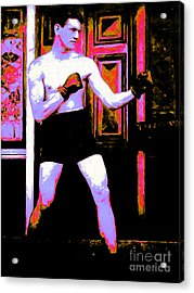 The Boxer - 20130207 Acrylic Print by Wingsdomain Art and Photography