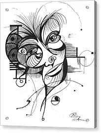 The Boxer Acrylic Print by Nicholas Burningham