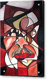Acrylic Print featuring the painting The Brain Surgeon  by Patricia Arroyo
