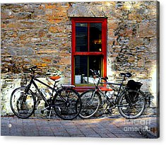 Acrylic Print featuring the photograph The Break by Elfriede Fulda