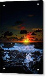 The Break Of Dawn Acrylic Print by Mark Andrew Thomas