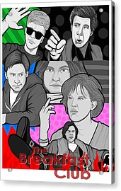 the Breakfast Club 30th anniversary Acrylic Print by Gary Niles