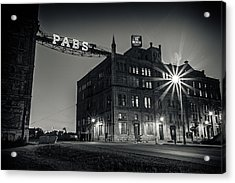 The Brewery Acrylic Print