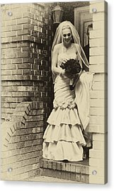 The Bride 2 Example Acrylic Print by David Patterson