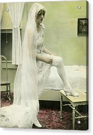 The Bride Retires Acrylic Print by Underwood Archives