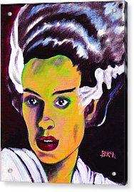 The Bride Acrylic Print by Steven Burch