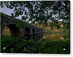 The Bridge At Inistogue Acrylic Print by Joe Houghton