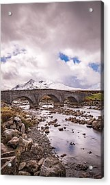 The Bridge At Sligachan On Skye Acrylic Print