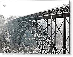 The Bridge B/w Acrylic Print